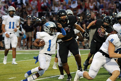 HERE'S THE REPLAY!   Versatile offense, powerful defense lead South Forsyth past Lambert.